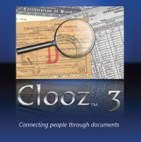 Image of documents with magnifying glass with name Clooz 3